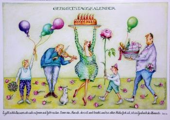 Thrän-Geburtstagskalender