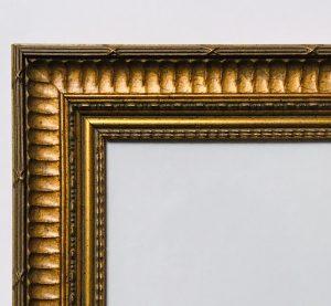 Barockrahmen-Detailansicht