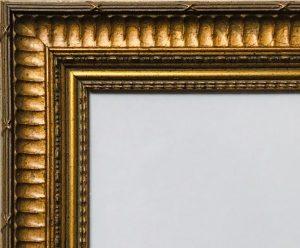 Barockrahmen Detailansicht